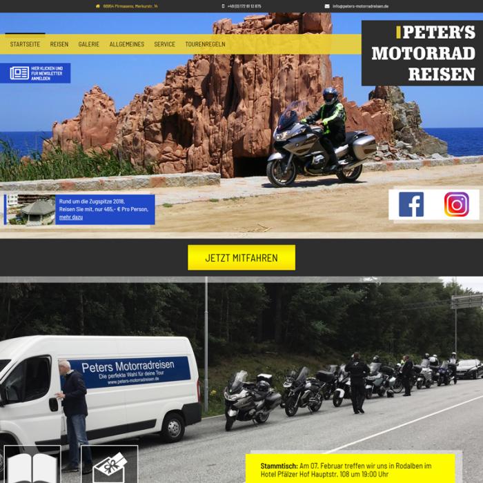 Peter's Motorradreisen
